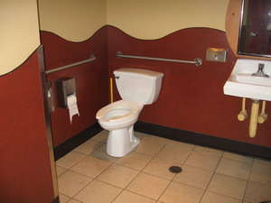 starbucks bathroom